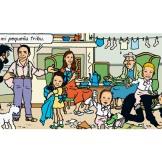 Nacho y su familia como Serafín Latón